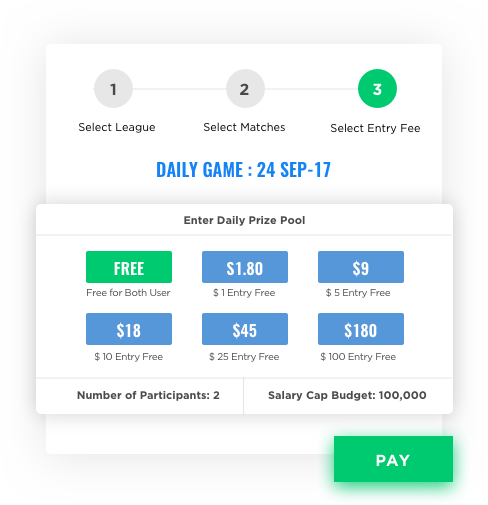 fantasy sports mobile app development free & paid games by Vinfotech