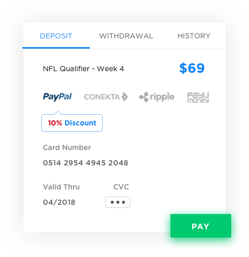 Payment Partnerships for Fantasy Sports by Vinfotech