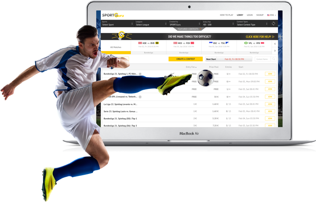 European-Fantasy Football Website Development by Vinfotech