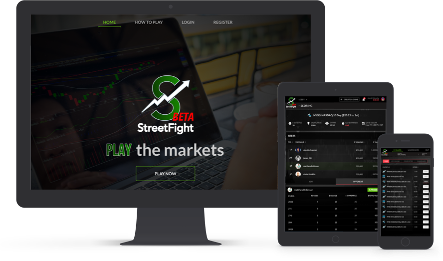 Streetfight – fantasy stock market software development by Vinfotech