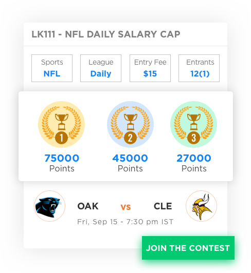 daily fantasy sports software with achievement badge by Vinfotech