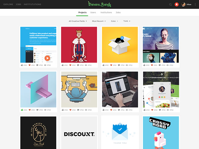 Social Network for Creative Professionals