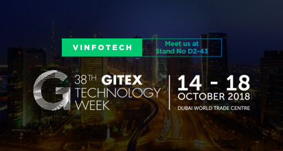 Vinfotech Participated in Gitex, Dubai